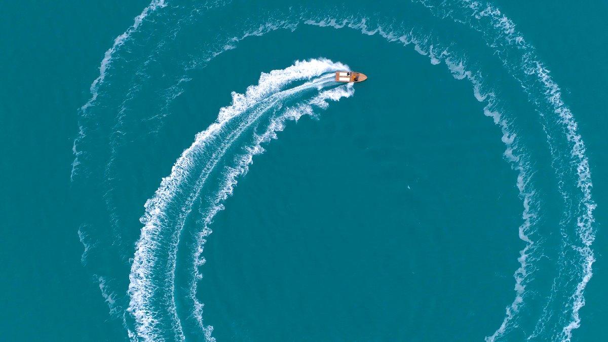 Photo par drone sur l'ile de Ré et La Rochelle
