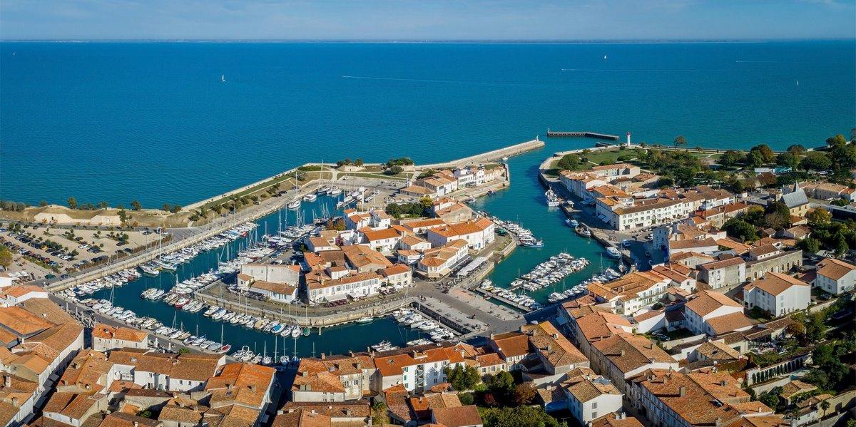 Photo aérienne par drone de Saint-Martin-de-Ré