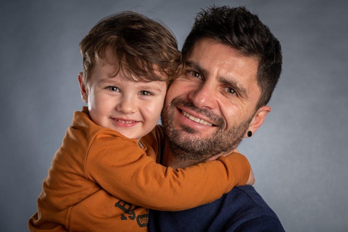 Photo portrait famille studio La Rochelle